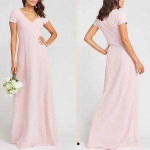 Show Me Your MuMu Rose Pink Geneva Formal Dress